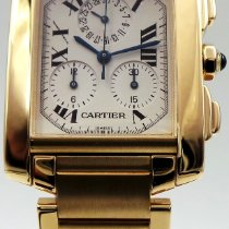 b8d4a2b7cf09 Cartier 1830 Yellow gold Tank Française pre-owned United States of America