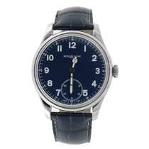 Montblanc 1858 Steel 44mm Blue Arabic numerals United States of America, Connecticut, Greenwich