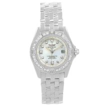 Breitling Callistino White gold 29mm Mother of pearl
