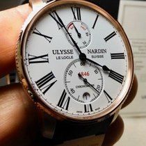 Ulysse Nardin Marine Torpilleur Rose gold 42mm White United States of America, North Carolina, Winston Salem