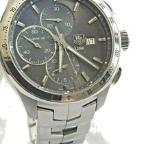 TAG Heuer Steel Automatic 43mm pre-owned Link Calibre 16