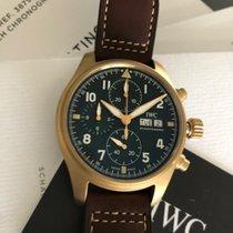 IWC Pilot Spitfire Chronograph nuovo 2019 Automatico Cronografo Orologio con scatola e documenti originali IW387902