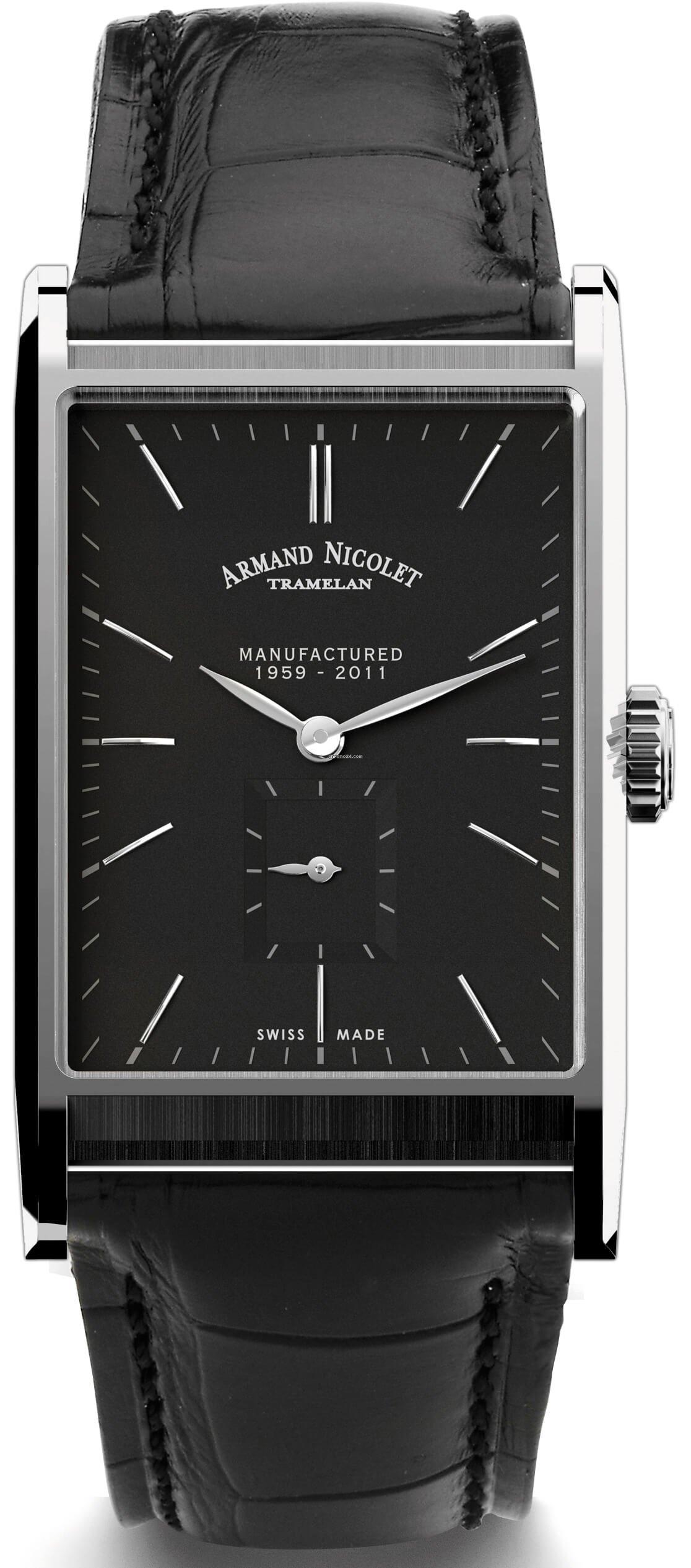96942de9d Armand Nicolet L11 Small Seconds Limited Edition 9680A-NR-P680NR4 en venta  por 5.300 € por parte de un Seller de Chrono24