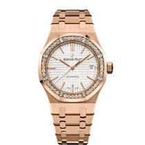 Audemars Piguet Royal Oak Lady Rose gold 37mm White United States of America, New York, New York