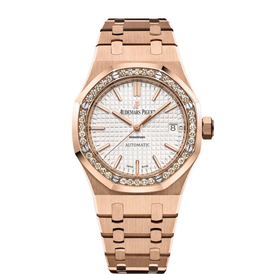 Audemars Piguet Royal Oak 15451or Zz 1256or 01 Lady Watch New