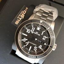 Fortis Titanium Automatic Black Arabic numerals 42mm new