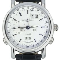 Ulysse Nardin GMT +/- Perpetual Platinum 40mm White United States of America, Illinois, BUFFALO GROVE