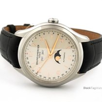 Baume & Mercier Clifton Steel 43mm Silver Arabic numerals United States of America, Florida, Aventura