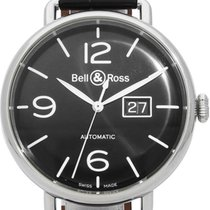 Bell & Ross Steel 43mm Automatic BRWW196-BL-ST pre-owned