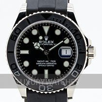 Rolex Yacht-Master 42 pre-owned 42mm Black Fold clasp