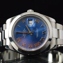 Rolex Datejust II Stahl 41mm Blau Deutschland, Hamburg