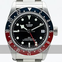 Tudor Black Bay GMT Aço 41mm Preto
