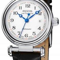 Epos Reloj de dama 28mm nuevo Reloj con estuche y documentos originales 2019