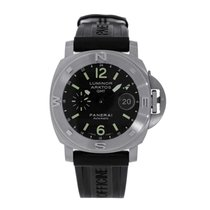 Panerai Luminor Submersible Сталь 44mm Чёрный Без цифр