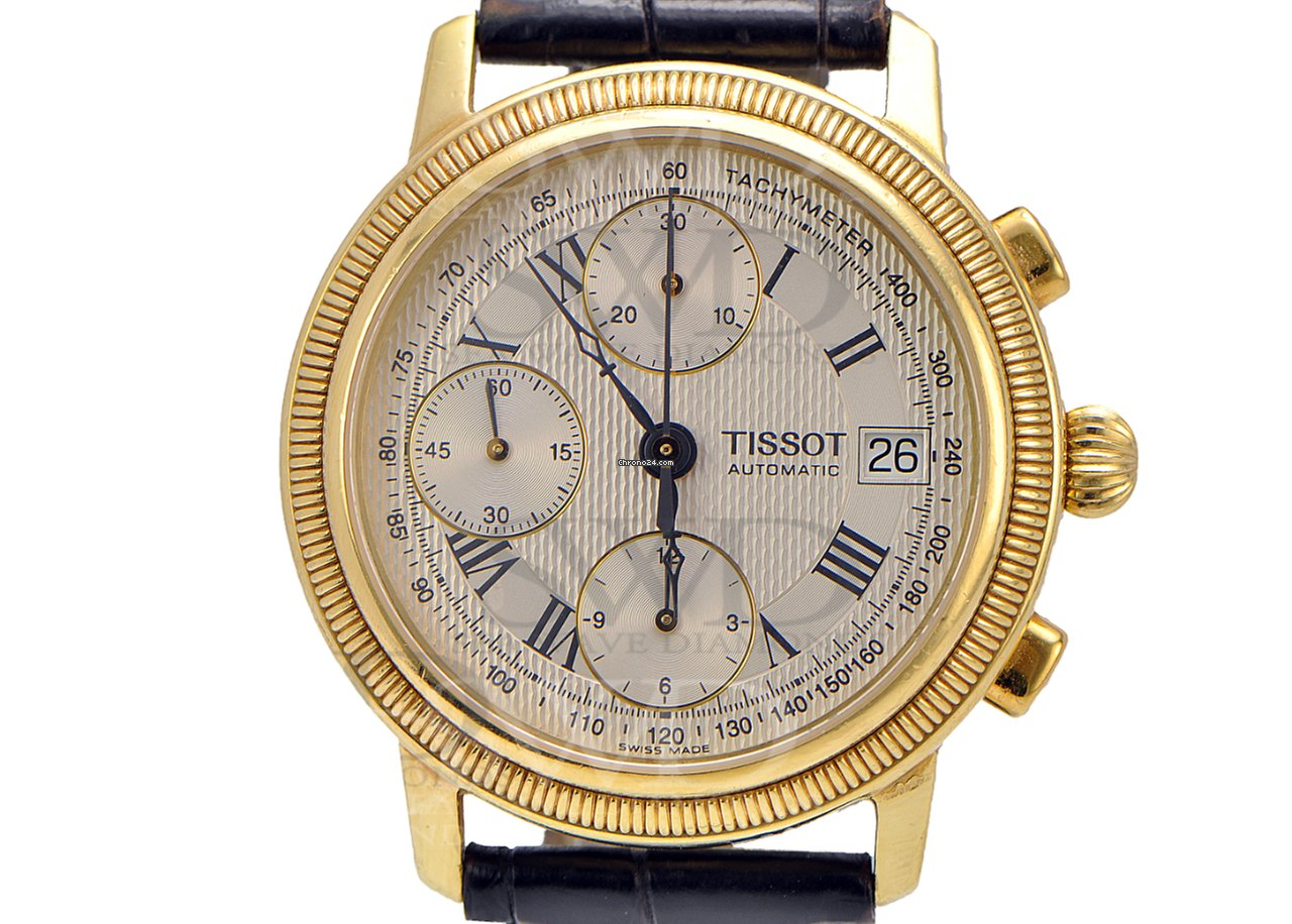 Tissot tissot bridgeport t71343533 18k yellow gold on for Bpt thermoprogram th 24 prezzo