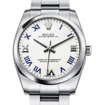 Rolex Oyster Perpetual 31 Steel 31mm White Roman numerals United Kingdom, London