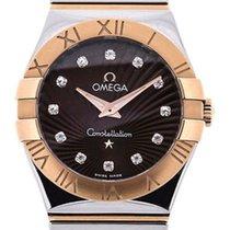 Omega Constellation Quartz 27mm Brown