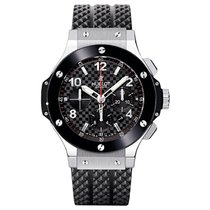 Hublot Big Bang 44mm Automatic Stainless Steel Mens Watch...