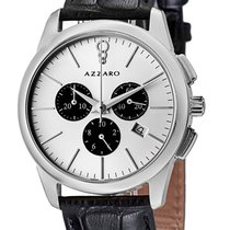 Azzaro Chronograph Quartz new Silver