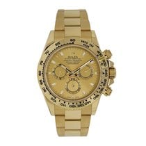 Rolex Daytona 18K Yellow Gold Watch Champagne Dial Watch 116508
