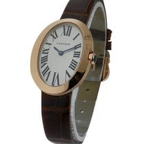 Cartier W8000007 Baignoire - Small Size - Rose Gold on Strap...