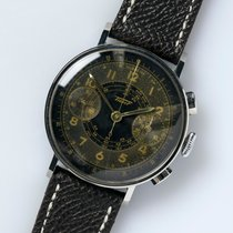 天梭 (Tissot) Rare Vintage Cal.33.3 CHRO Jumbo Gilt Dial / 38 mm...