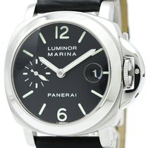 パネライ (Panerai) Luminor Automatic Stainless Steel Men's Sports...