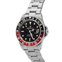 Rolex GMT-Master II Coke, Ref# 16710, Stainless Steel with Papers