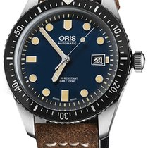 Oris Divers Sixty Five new Automatic Watch with original box and original papers 0173377204055