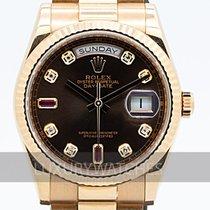 Rolex Day-Date (Submodel) begagnad 36mm Roséguld