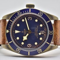 Tudor Heritage Black Bay Bronze Blue Bucherer 79250BB