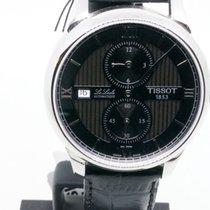 Tissot Le Locle Сталь 38mm Черный Римские