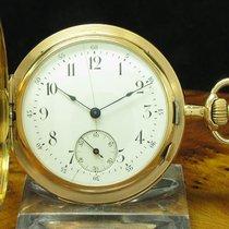 V. Perrin 18kt 750 Gold Savonette Sprungdeckel Taschenuhr...