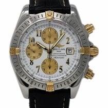 Breitling Chronomat Evolution Stahl 43mm Weiß