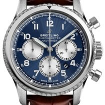 Breitling Navitimer 8 Steel 43mm Blue United States of America, Iowa, Des Moines