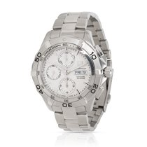 TAG Heuer Aquaracer 300M pre-owned 43mm Silver Steel