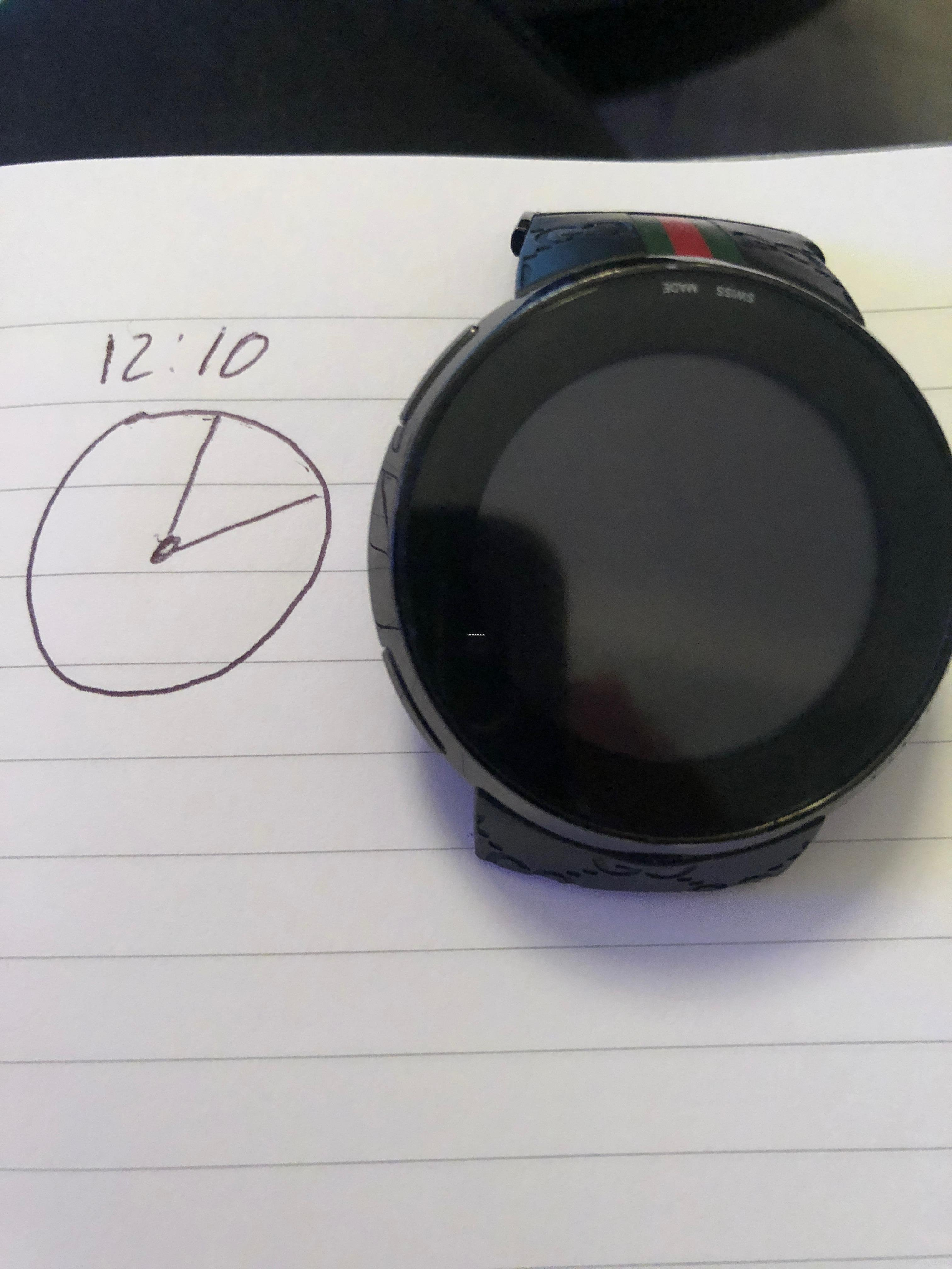 40d1079837c Gucci I-Gucci 114 Men s Digital Watch for  214 for sale from a Private  Seller on Chrono24
