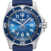 Breitling Superocean II 44 Steel 44mm Blue