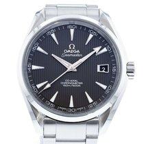 Omega 231.10.42.21.06.001 Stahl 2010 Seamaster Aqua Terra 41.5mm gebraucht