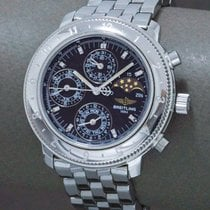 Breitling pre-owned Automatic 40mm Blue Plexiglass