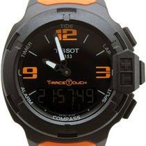Tissot Quarz Schwarz 42.2mm neu T-Race Touch