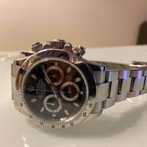 Rolex Daytona Steel 40mm Black No numerals UAE, Khalifa City A