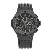 Hublot Big Bang Aero Bang Керамика 44mm Чёрный Без цифр