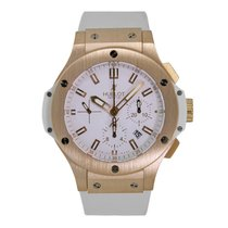 Hublot Big Bang Evolution 44 Rose Gold Watch White Rubber