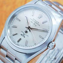 Rolex 14000 Air King Saudi Military S/S Automatic Watch