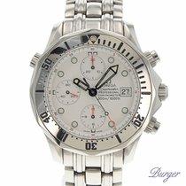 Omega Seamaster Professional Chronograph White Dial