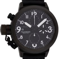U-Boat : Flight Deck CAB :  43-CAB-3 :  Black PVD stainless steel