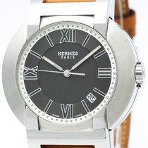 Hermès Nomade Compass Steel Auto Quartz Mens Watch No2.910...