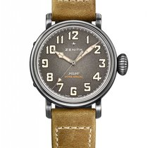Zenith Pilot Type 20 Extra Special Steel 40mm Grey Arabic numerals
