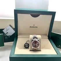 Rolex Datejust Rolex 116201 36mm Steel & 18K Rose Gold Pink Roman Dial 2019 new
